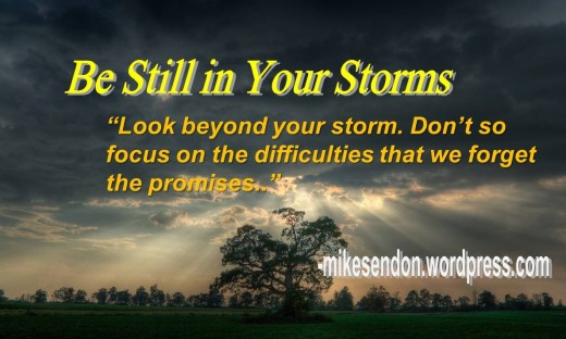 Be still in your storms 4