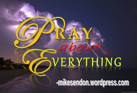 Pray about Everything